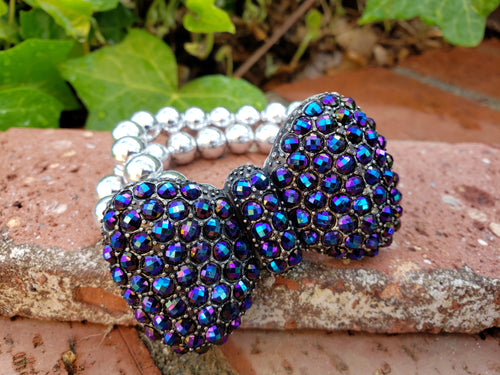 Bow stretch bracelet