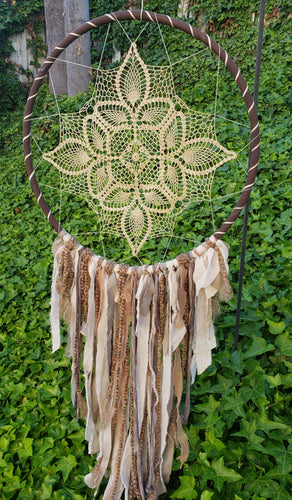 Coffee n Creme Dreamcatcher