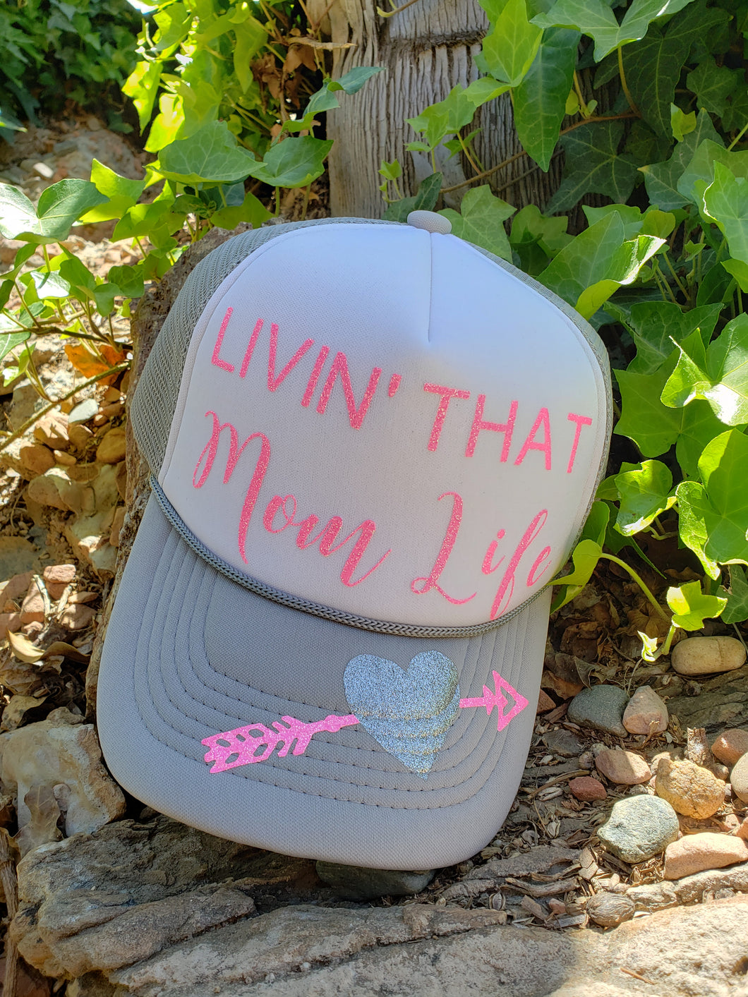Livin' that mom life hat