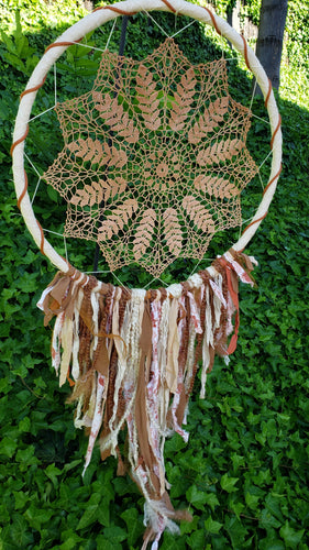 Amber Waves of Grain Dreamcatcher