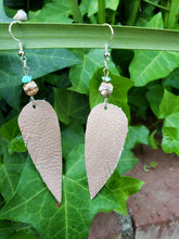 Sandstone jasper earrings