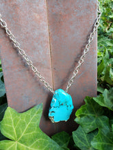 Howlite slab necklace