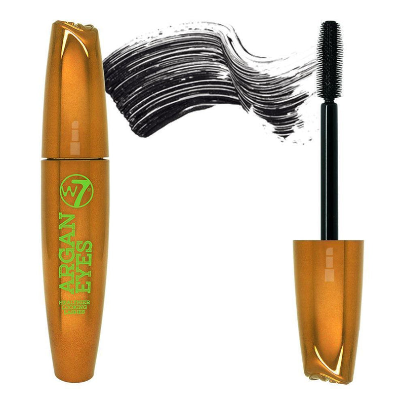 W7 Argan Eyes Mascara - Blackest Black
