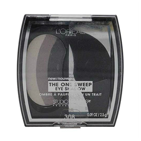 L'Oreal One Sweep Eyeshadow | 308 Smoky For Green Eyes