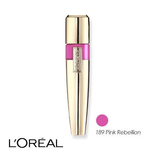 L'Oreal Colour Riche Caresse Acqua Lip Lacquer 189 Pink Rebellion 6.3ml