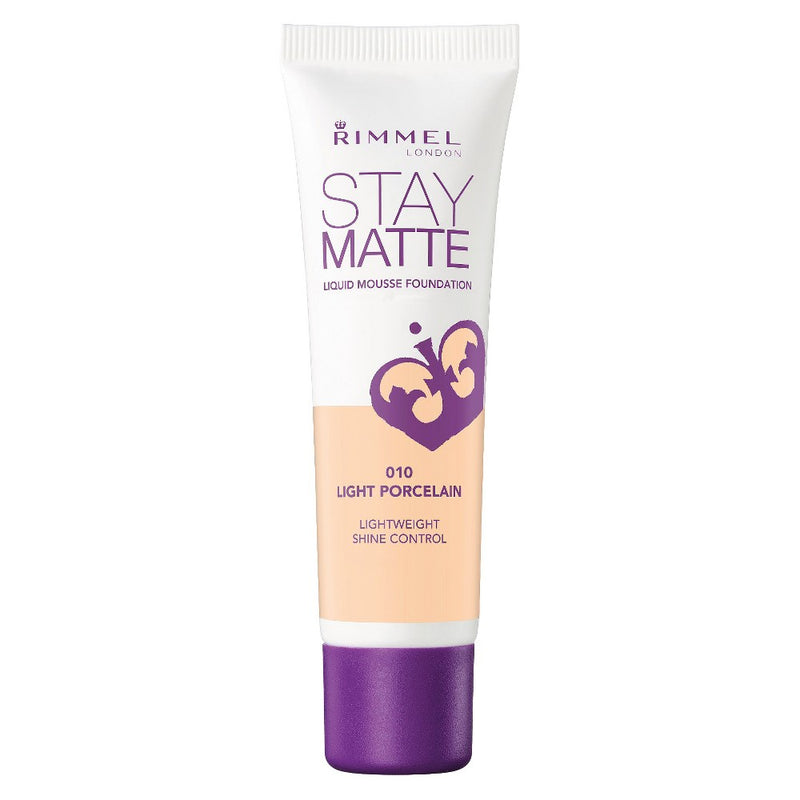 Rimmel Stay Matte Liquid Mousse Foundation | 010 Light Porcelain