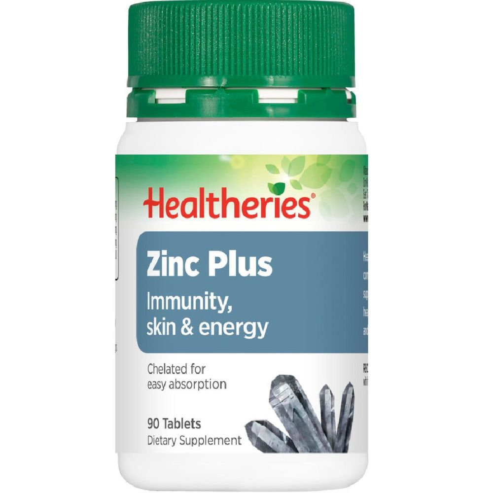 Healtheries Zinc Plus - 90 Tablets
