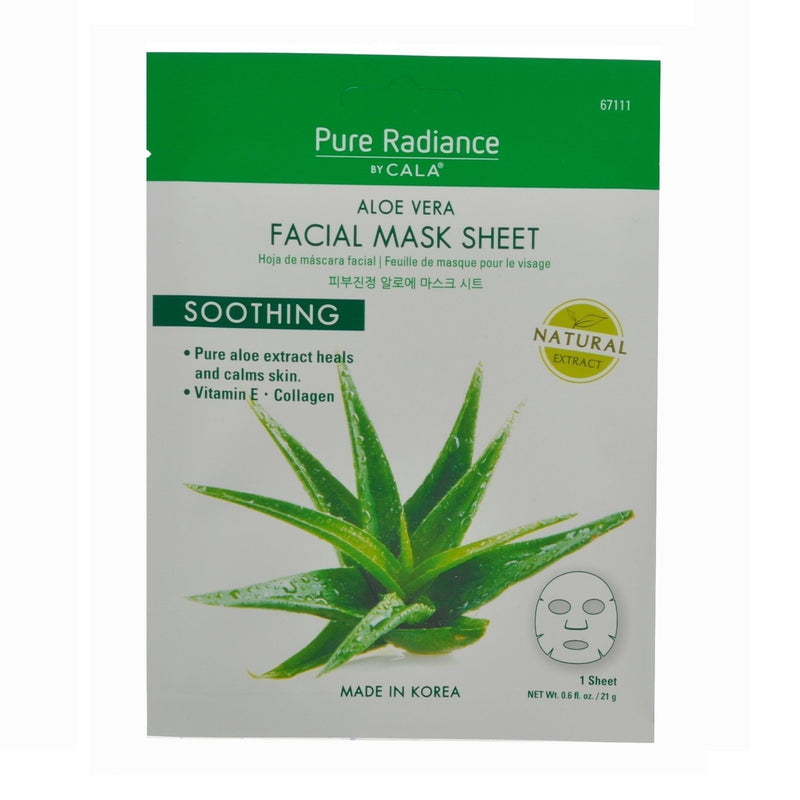 Cala Pure Radiance Aloe Vera Face Mask Sheet