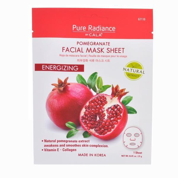 Cala Pure Radiance Pomegranate Face Mask Sheet