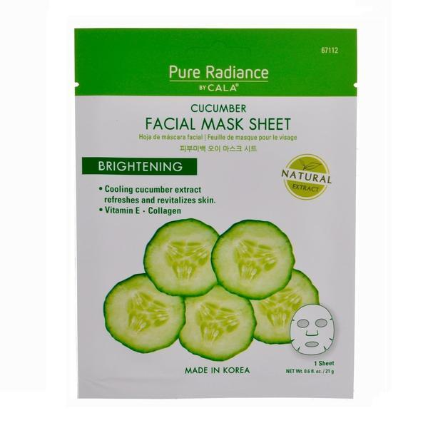 Cala Pure Radiance Cucumber Face Mask Sheet