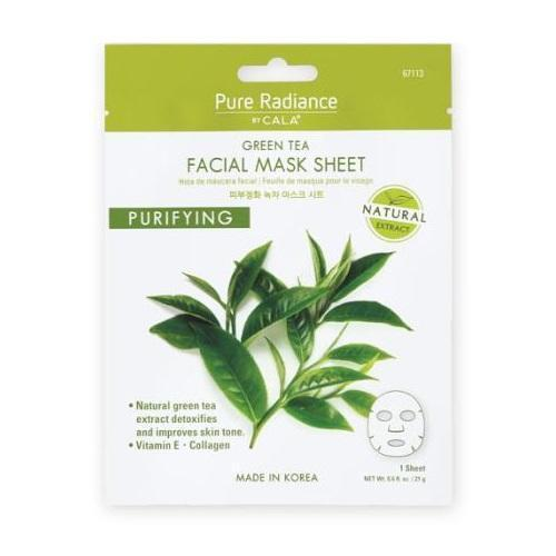 Cala Pure Radiance Green Tea Face Mask Sheet