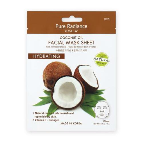 Cala Pure Radiance Coconut Oil Facial Mask Sheet