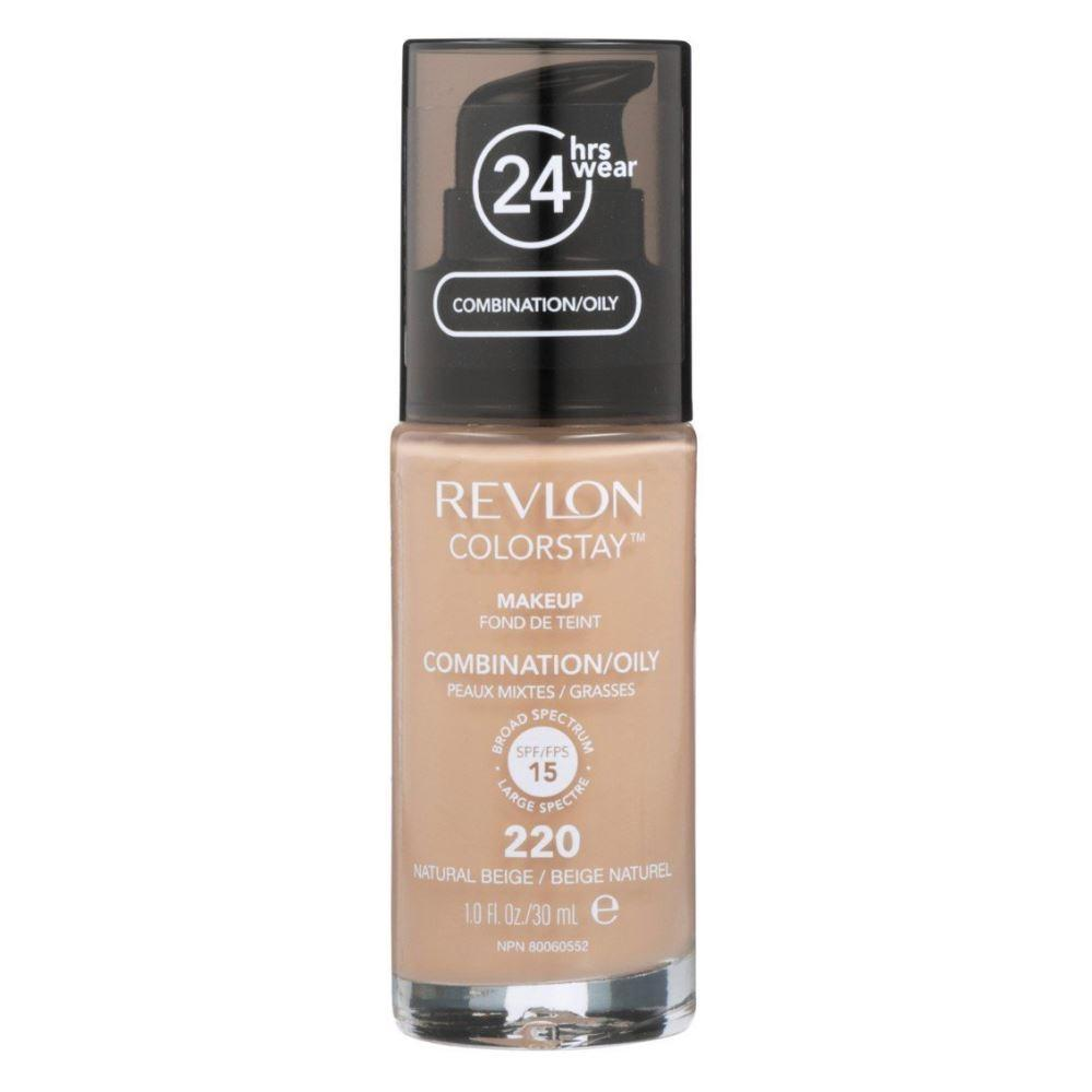 Revlon Colorstay Combination/Oily Skin Makeup #220 Natural Beige