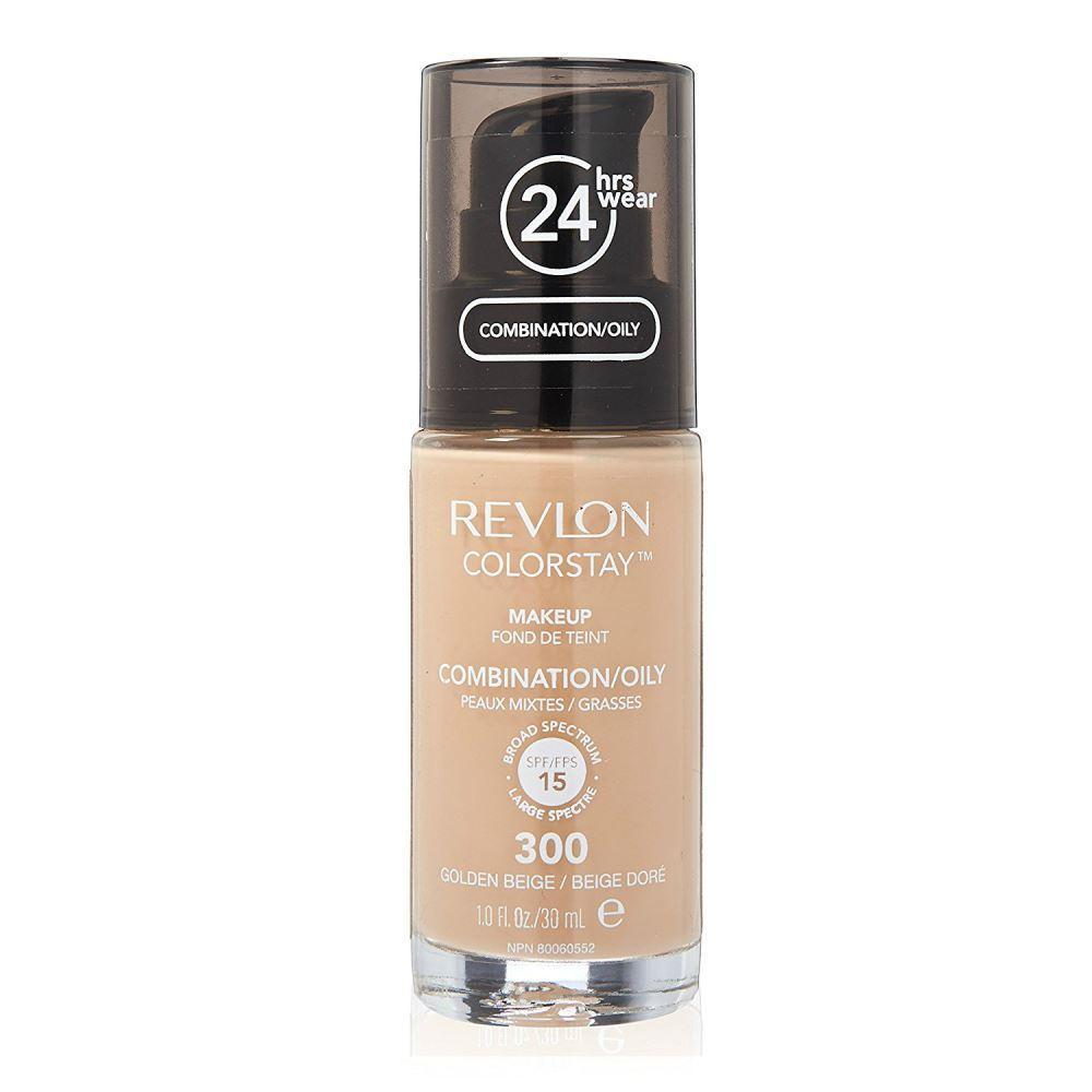 Revlon Colorstay Combination/Oily Skin Makeup #300 Golden Beige