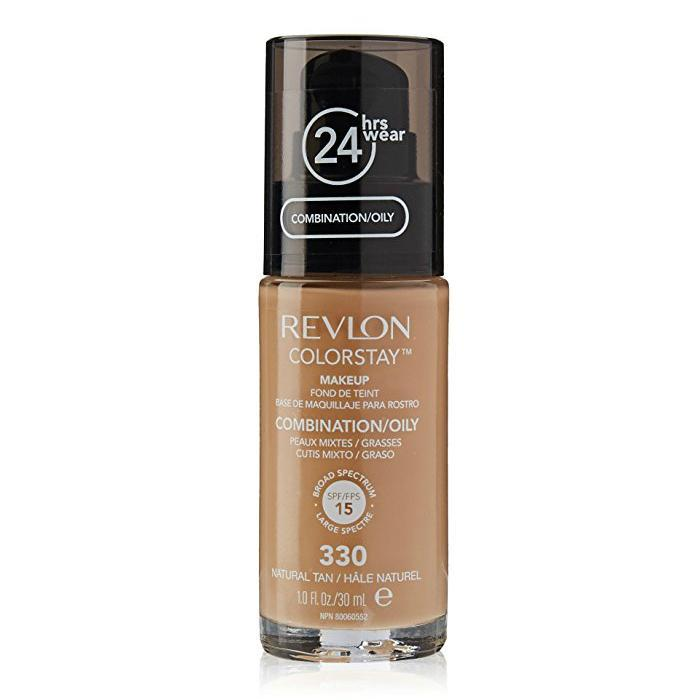 Revlon Colorstay Combination/Oily Skin Makeup #330 Natural Tan