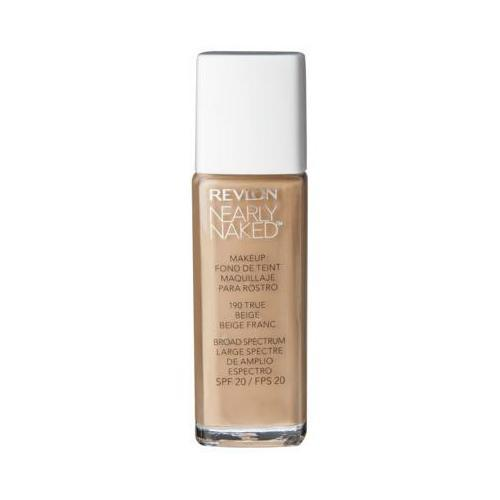Revlon Nearly Naked Foundation #190 True Beige