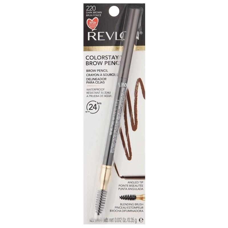 Revlon ColorStay Brow Pencil #220 Dark Brown