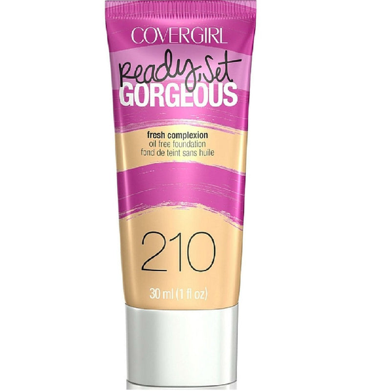 Covergirl Ready Set Gorgeous Foundation 210 Medium Beige