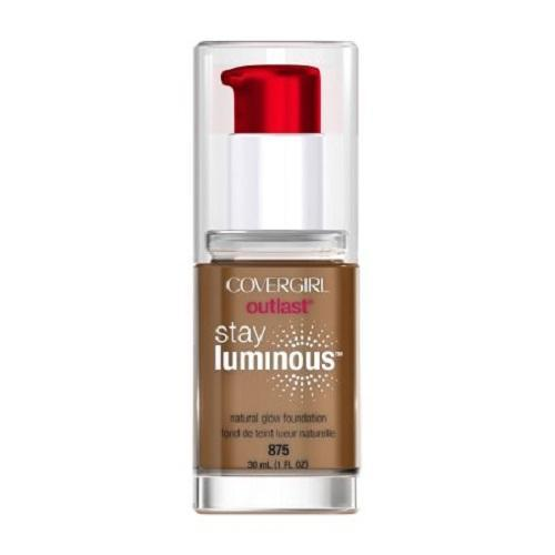 CoverGirl Outlast Stay Luminous Foundation 875 Soft Sable