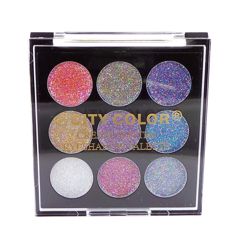 City Color Cream Glitter Eyeshadow Palette