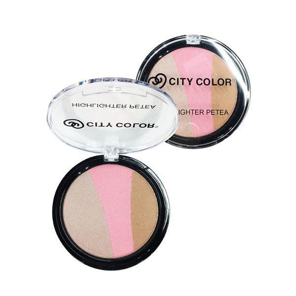 City Color Highlighter Petea