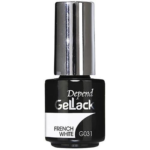 Depend Gellack Nail Polish French White