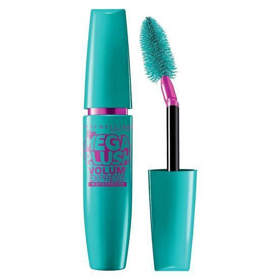 Maybelline Volum' Express Mega Plush Mascara | Very Black