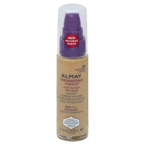 Almay Age Essentials Makeup Foundation # 120 Light Warm