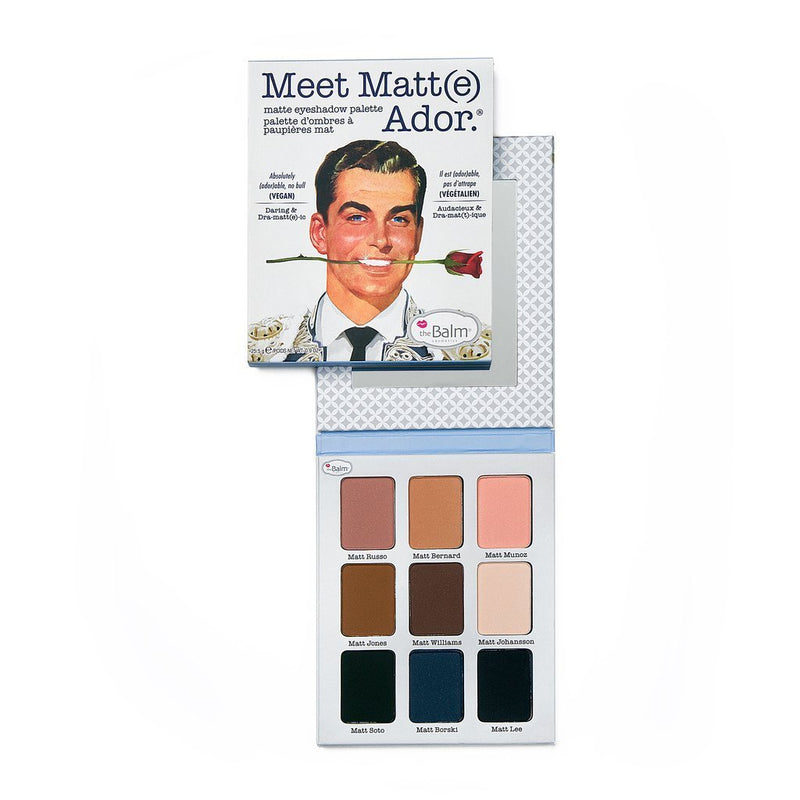 The Balm Meet Matt(e) Ador Matte Eyeshadow Palette