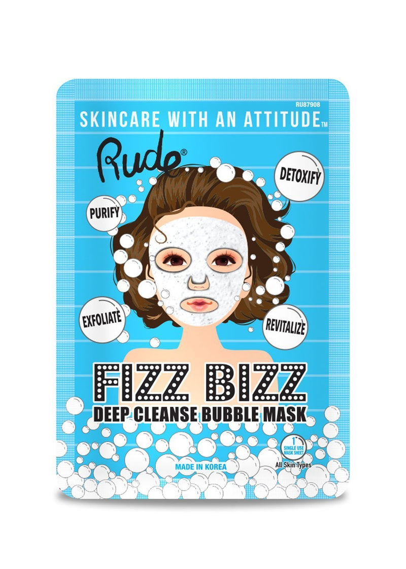 Rude Fizz Bizz Deep Cleanse Bubble Mask