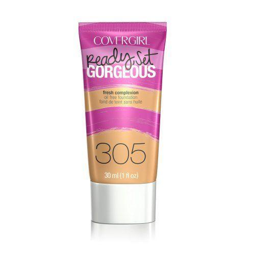 Covergirl Ready Set Gorgeous Foundation # 305 Golden Tan