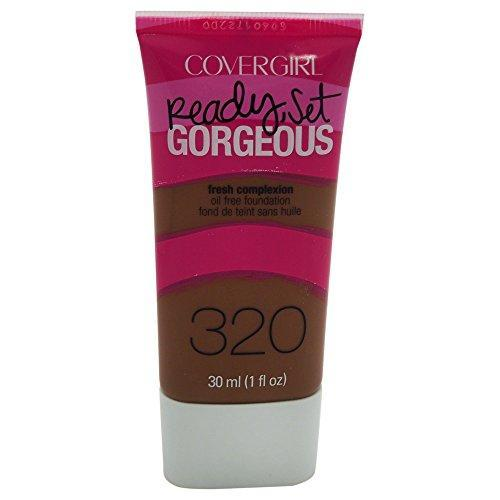 Covergirl Ready Set Gorgeous Foundation # 320 Soft Sable