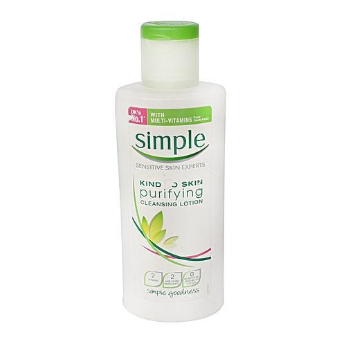 Simple Purifying Cleansing Lotion 200 ml