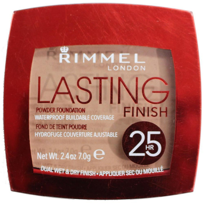 Rimmel Lasting Finish Powder Foundation # 005 Warm Honey