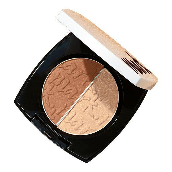 AVON MARK Dual Glow Blush Beach Babe