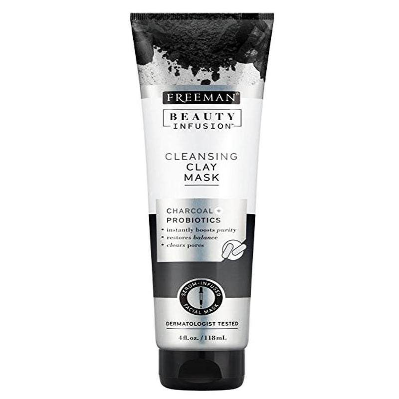 Freeman Beauty Infusion Charcoal Cleansing Clay 118ml