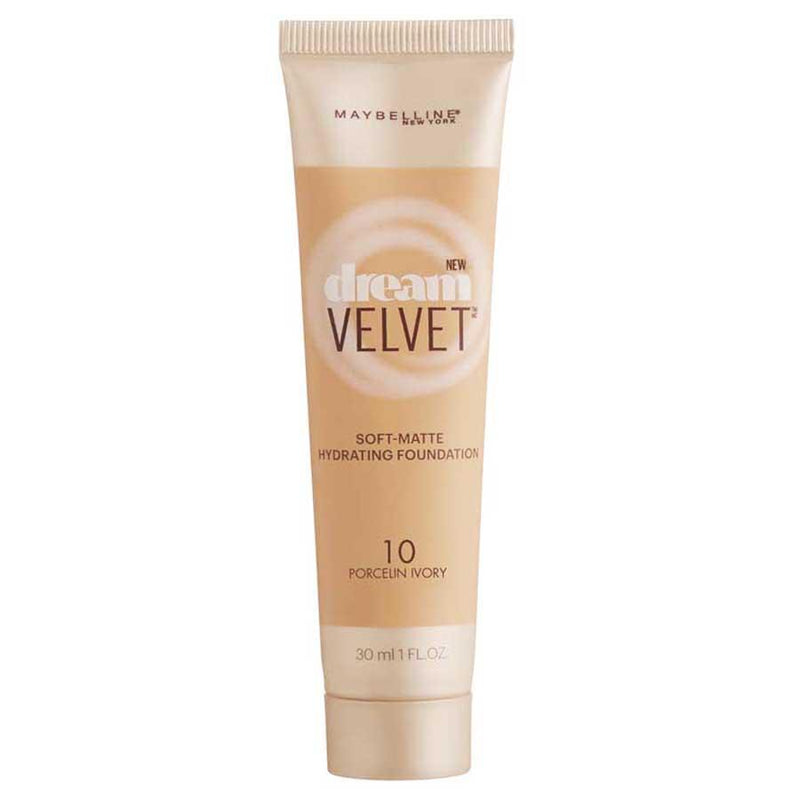 Maybelline Dream Velvet Foundation 10 Porcelain Ivory