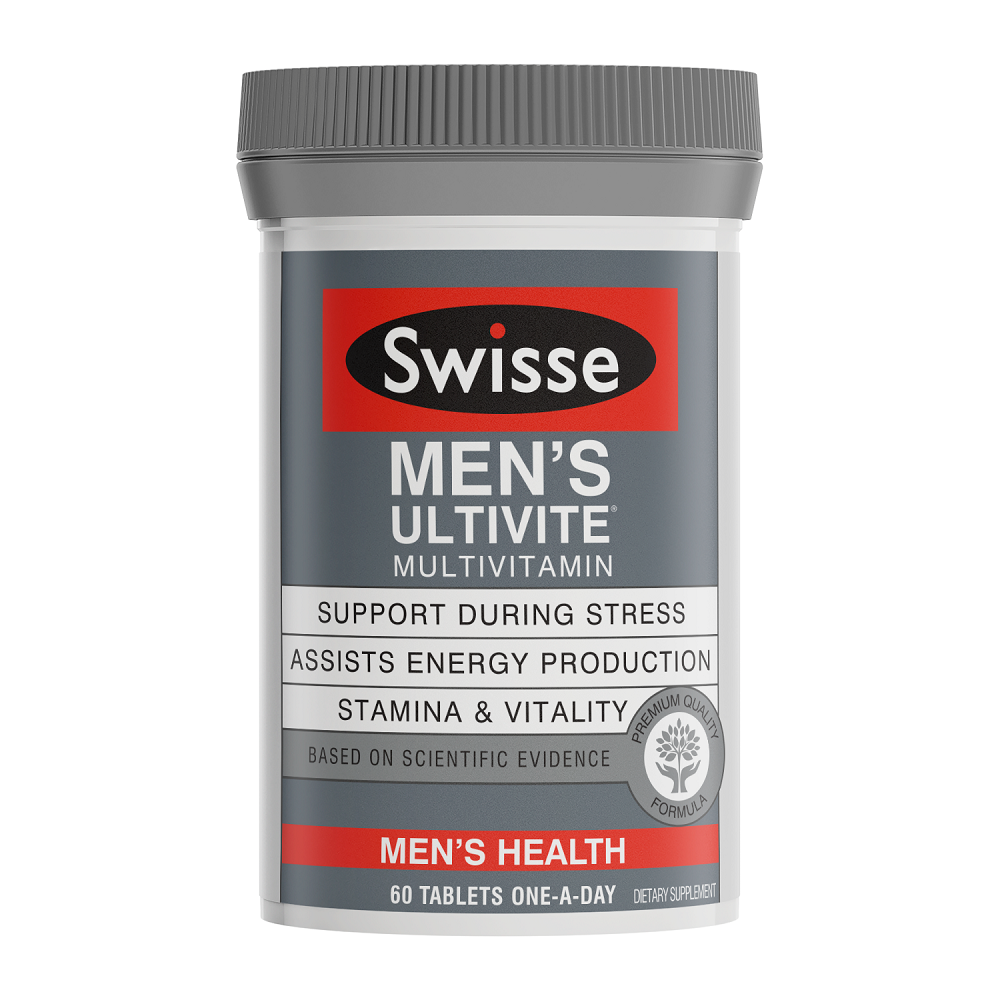 Swisse Men's Ultivite Multivitamin - 60 Tablets