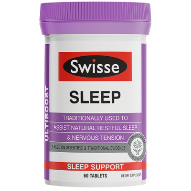 Swisse Ultiboost Sleep Support - 60 Tablets