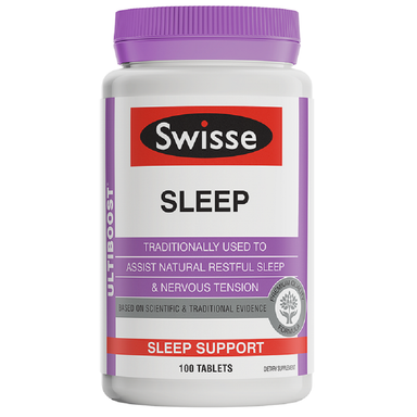 Swisse Ultiboost Sleep Support - 100 Tablets