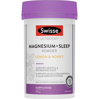 Swisse Ultiboost Magnesium + Sleep 180g Powder