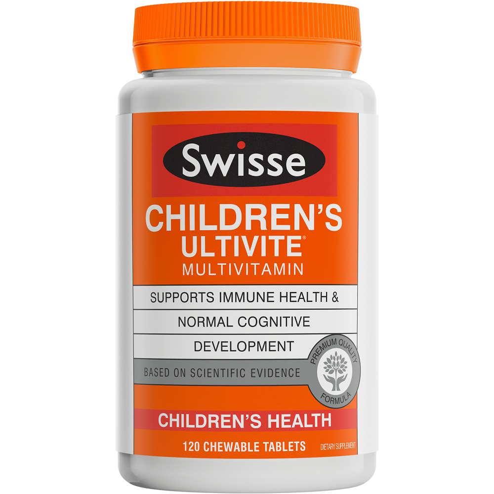 Swisse Children's Ultivite Multivitamin - 120 Chewable Tablets
