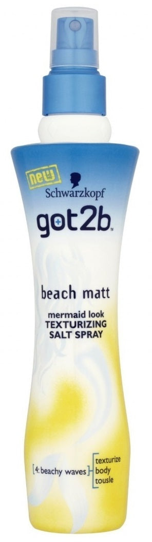 Schwarzkopf Got2b Beach Matt Texturizing Salt Spray 200 mL