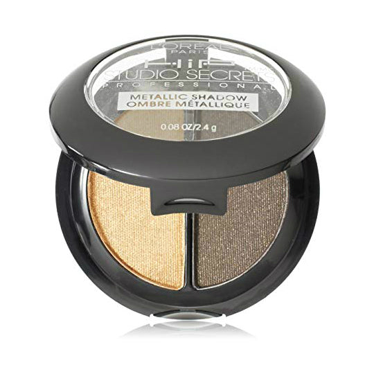 L'Oreal Metallic Shadow Duo | 806 Gilded