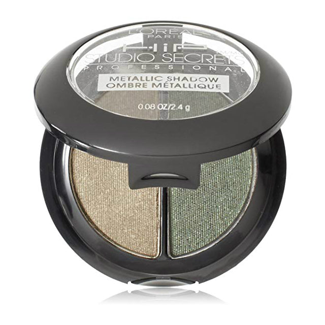 L'Oreal Metallic Shadow Duo | 306 Gunmetal