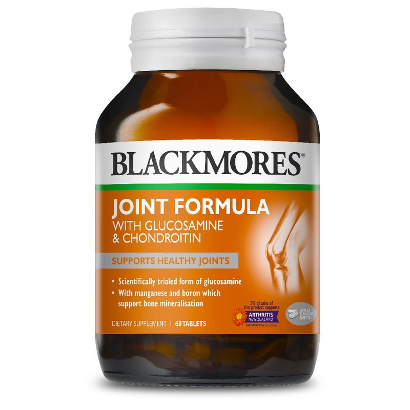 BLACKMORES Joint Formula with Glucosamine & Chondroitin - 60 Tablets