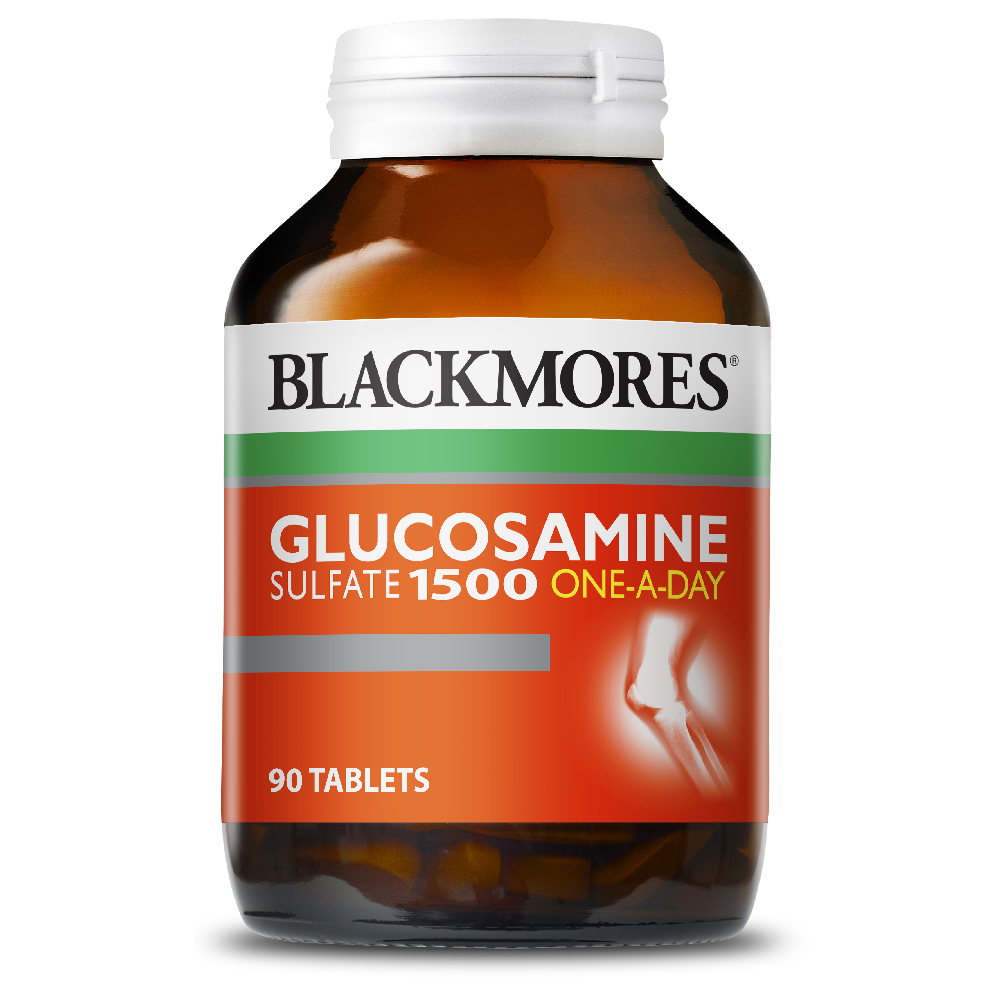 BLACKMORES Glucosamine Sulfate 1500 One-A-Day - 90 Tablets