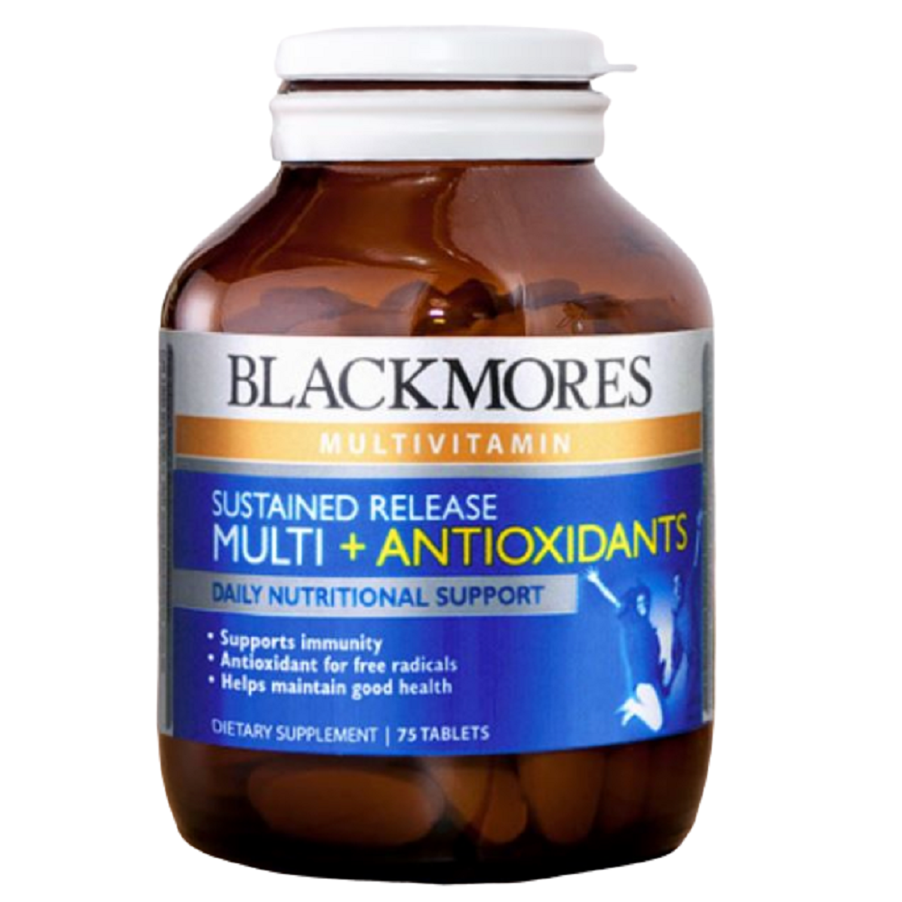 BLACKMORES Sustained Release Multi + Antioxidants - 75 Tablets
