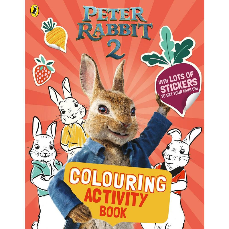 Beatrix Potter Peter Rabbit Movie 2 Colouring Sticker Activity