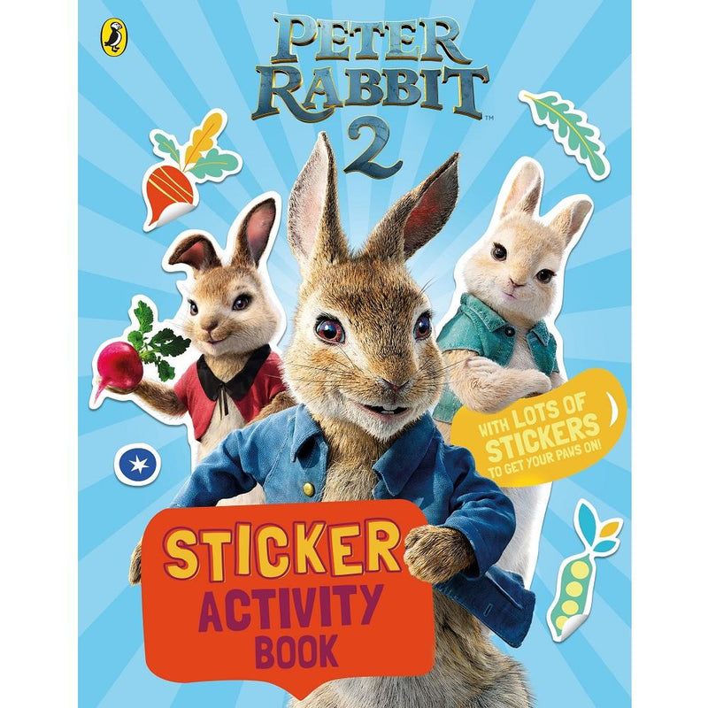 Beatrix Potter Peter Rabbit Movie 2 Sticker Activity Book